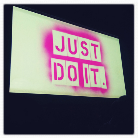 Just Do It Film premiere 2011