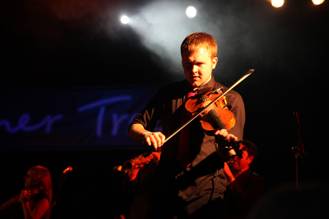 Larmer Tree Festival 2011 review Bellowhead