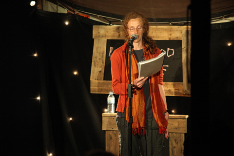 Larmer Tree Festival 2011 review poetry Polly Malone