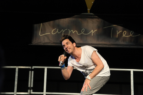 Larmer Tree Festival 2011 review -Russell Kane