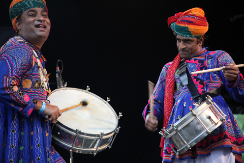 Larmer Tree Festival 2011 review -Jaipur Kawa Brass Band