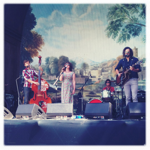 Larmer Tree Festival 2011 review Polly and the Billets Doux,