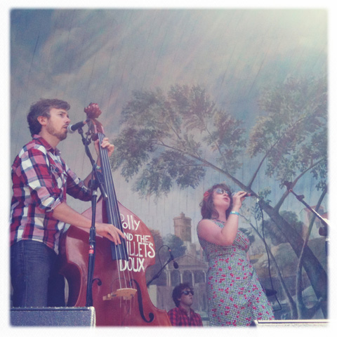Larmer Tree Festival 2011 review Polly and the Billets Doux, <a target=