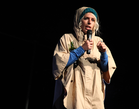 Larmer Tree Festival 2011 review -sara pascoe