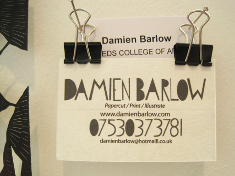 New Designers review 2011-Damien Barlow
