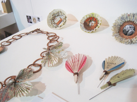 New Designers review 2011-Lucy Seddon's Paper Memories