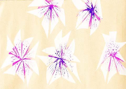 RHS Hampton Court Palace Flower Show by Illustrating Rain
