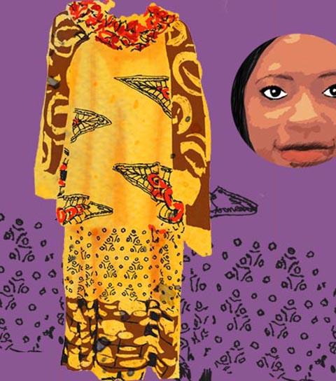 Rebecca Odubanjo by Naomi Law