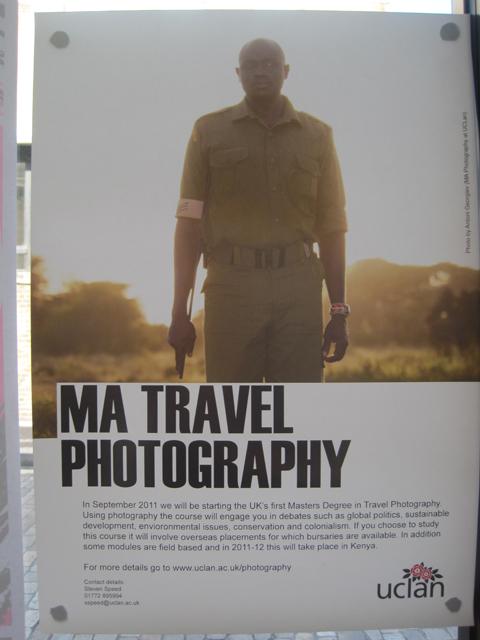 UC Lancashire Photography degree show Free Range 2011-Ma in travel photography