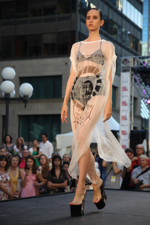 Fashion Mode Design Montreal Festimania 2011 Collectif: Fashion Pop Lost & Found photo by Amelia Gregory