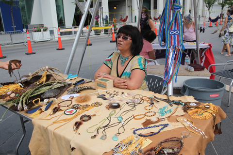 First Nations Montreal Festimania 2011 photo by Amelia Gregory