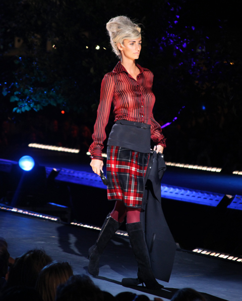 Jean Paul Gaultier Fashion Mode Design 2011 Bourgeoises Sans Age A/W 2011