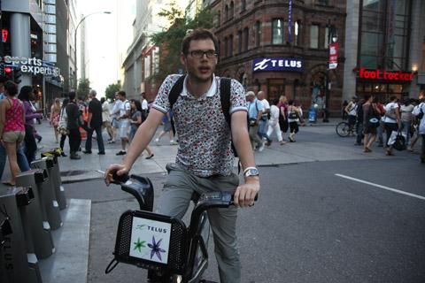 Montreal Festimania 2011 Bixi bike