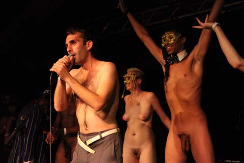 Wilderness Festival 2011 review david piper naked conga photo by Amelia Gregory