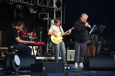 Wilderness Festival 2011 review Daniel Johnston photo by Amelia Gregory