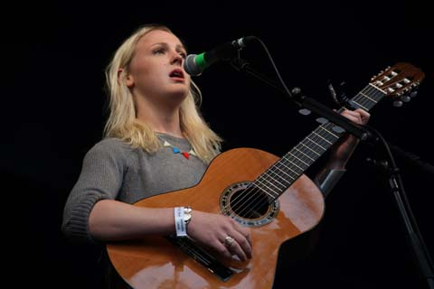 Wilderness Festival 2011 review Laura Marling photo by Amelia Gregory