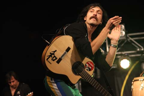 Wilderness Festival 2011 review gogol bordello photo by Amelia Gregory