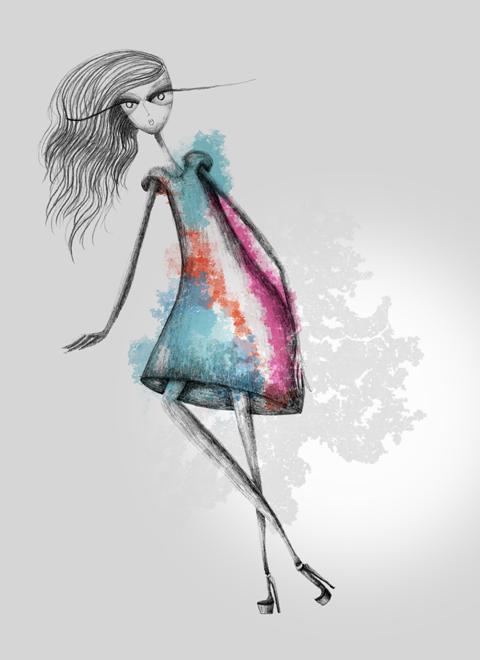 Basso & Brooke SS 2012 London Fashion Week - by Joana Faria