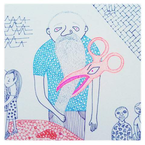 Camberwell illustration MA review 2011-Gerda Razmaite (Kai)