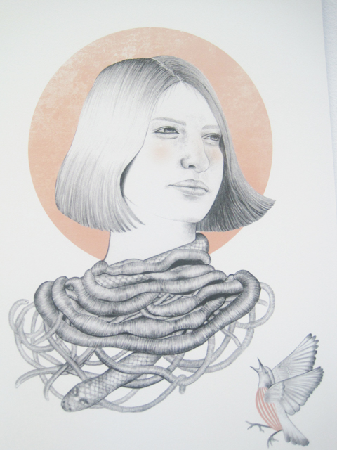 Camberwell illustration MA review 2011-Tuba Yalcinkaya