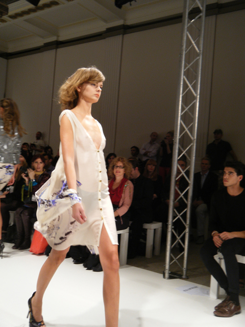 Carlotta Gherzi S/S 2012 sheer dress