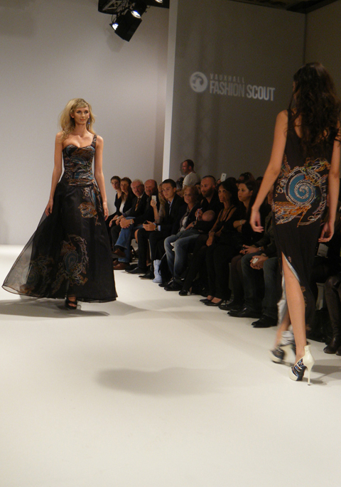 Carlotta Gherzi S/S 2012 black dress