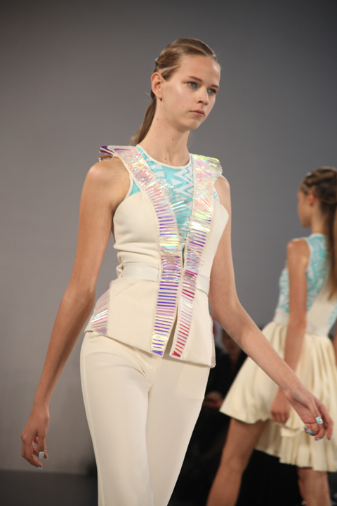 David Koma SS 2011 review-photo by Amelia Gregory