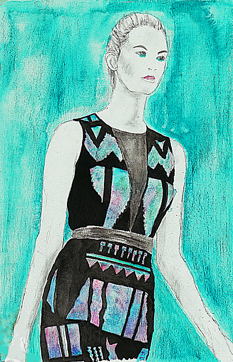 David Koma SS12 by Gilly Rochester