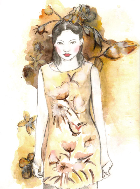 Elisa Palomino design by Hannah Hope
