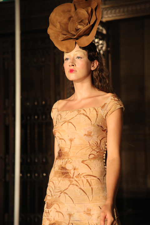 Elisa Palomino SS 2012 LFW by Amelia Gregory