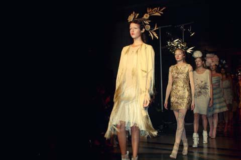 Elisa Palomino S/S 2012 LFW by Akeela Bhattay