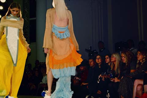 Heidi Leung - Fashion Fringe London Fashion Week S/S 2012 by Akeela Bhattay