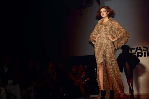 Nabil Nayal - Fashion Fringe London Fashion Week S/S 2012 by Akeela Bhattay