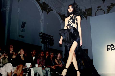 Fyodor Golan Fashion Fringe 2011 Winners London Fashion Week S/S 2012 by Akeela Bhattay