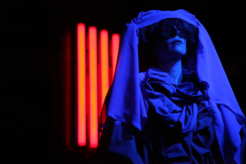 Gazelle Twin The Entire City album launch 2011-photography by Amelia Gregory