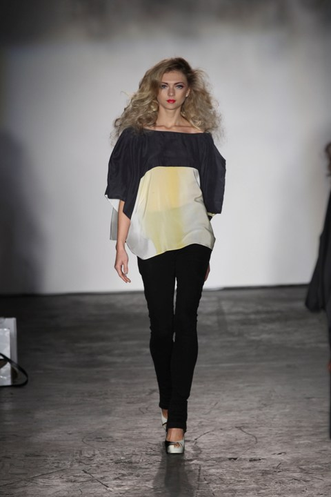 Jena Theo 7 S/S 2012 London Fashion Week