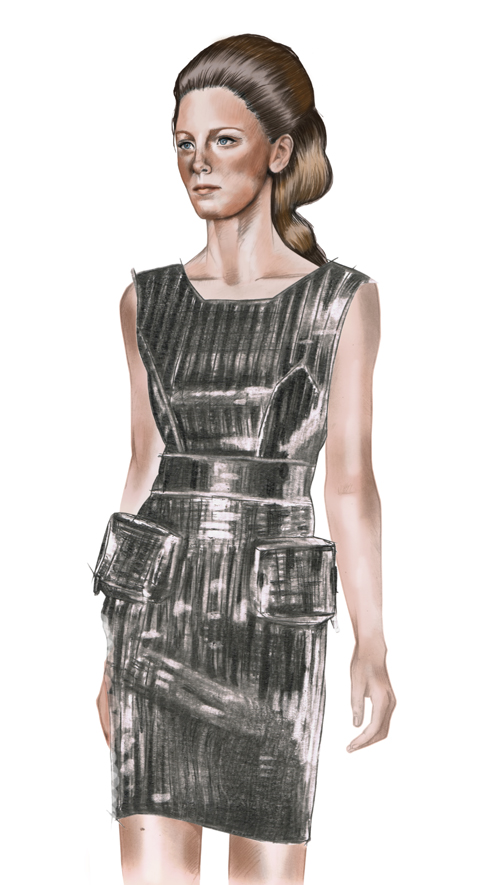 Jasper Garvida S/S 2012 illustrated by Charlotte Hoyle