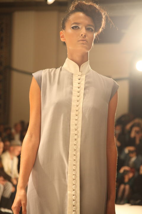 Lako Bukia SS 2012 London Fashion Week by Amelia Gregory