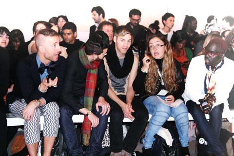 Crowd at Lako Bukia - S/S 2012 London Fashion Week by Akeela Bhattay