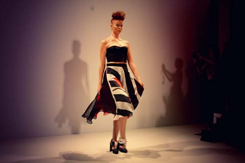 Lako Bukia - S/S 2012 London Fashion Week by Akeela Bhattay