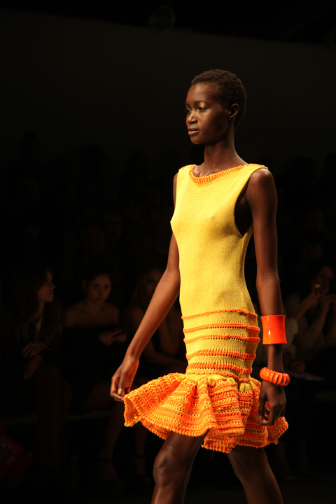 Mark Fast Spring/Summer 2012 by Amelia Gregory