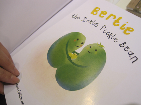 New Blood show review 2011-Bertie the Ickle Pickle Bean