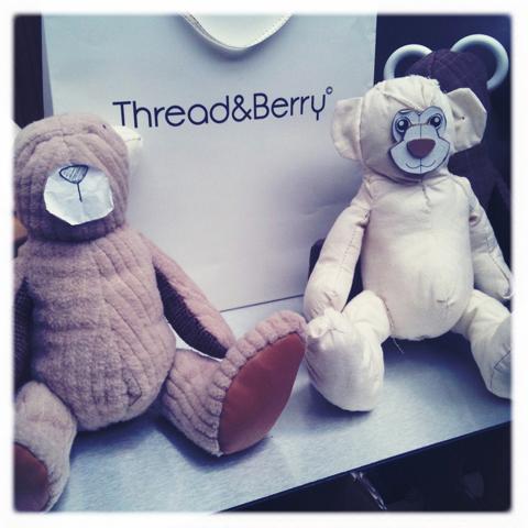 New Designers show review 2011-Thread&Berry Martin Stephenson
