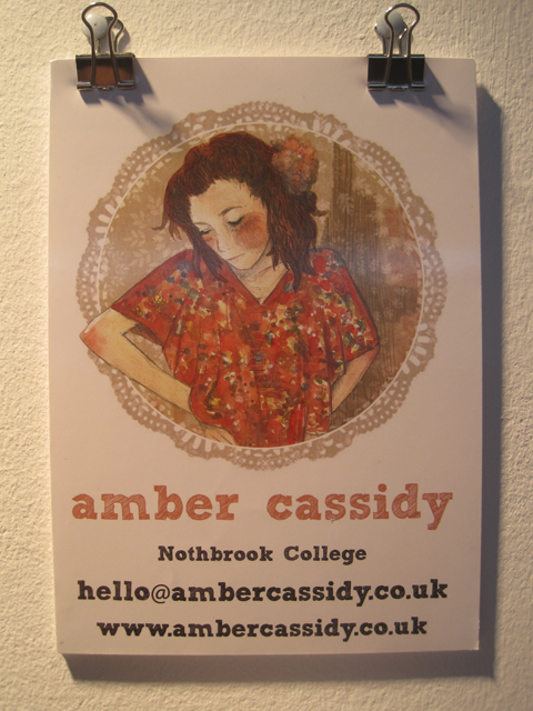 New Designers show review 2011-Amber Cassidy