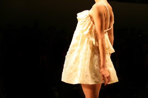 Paul Costello London Fashion Week SS 2012 Akeela Bhattay