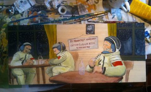 Robert Rotifer space canteen