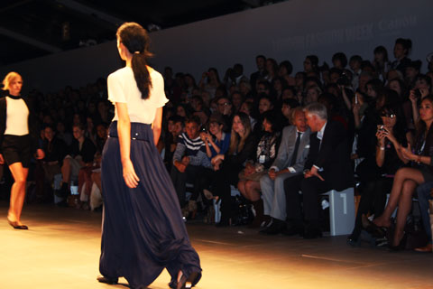 Ann-Sofie Back | BACK S/S 2012 London Fashion Week by Akeela Bhattay