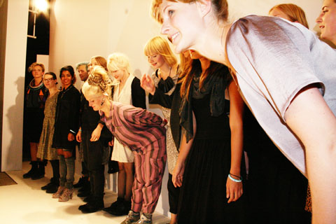 Swedish School of Textiles S/S 2012 London Fashion Week by Akeela Bhattay