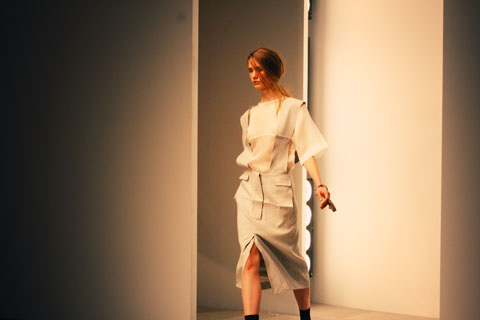 Ann-Sofie Back | Atelje S/S 2012 London Fashion Week by Akeela Bhattay
