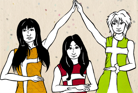 Shonen Knife by Claire Kearns